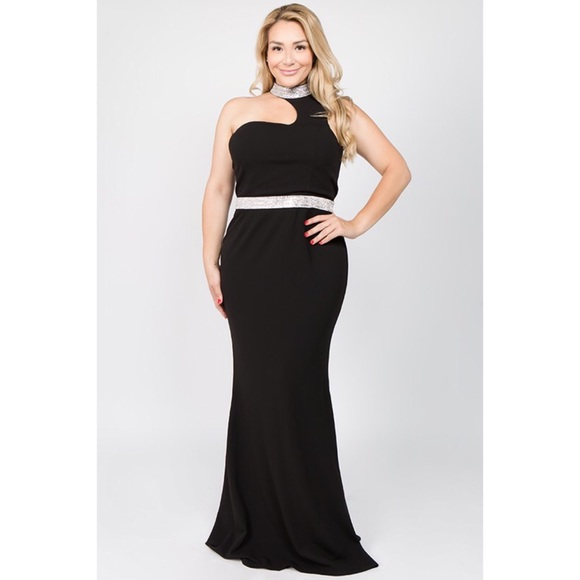 Ricarica Dresses | Plus Size Black Formal Dress | Poshmark